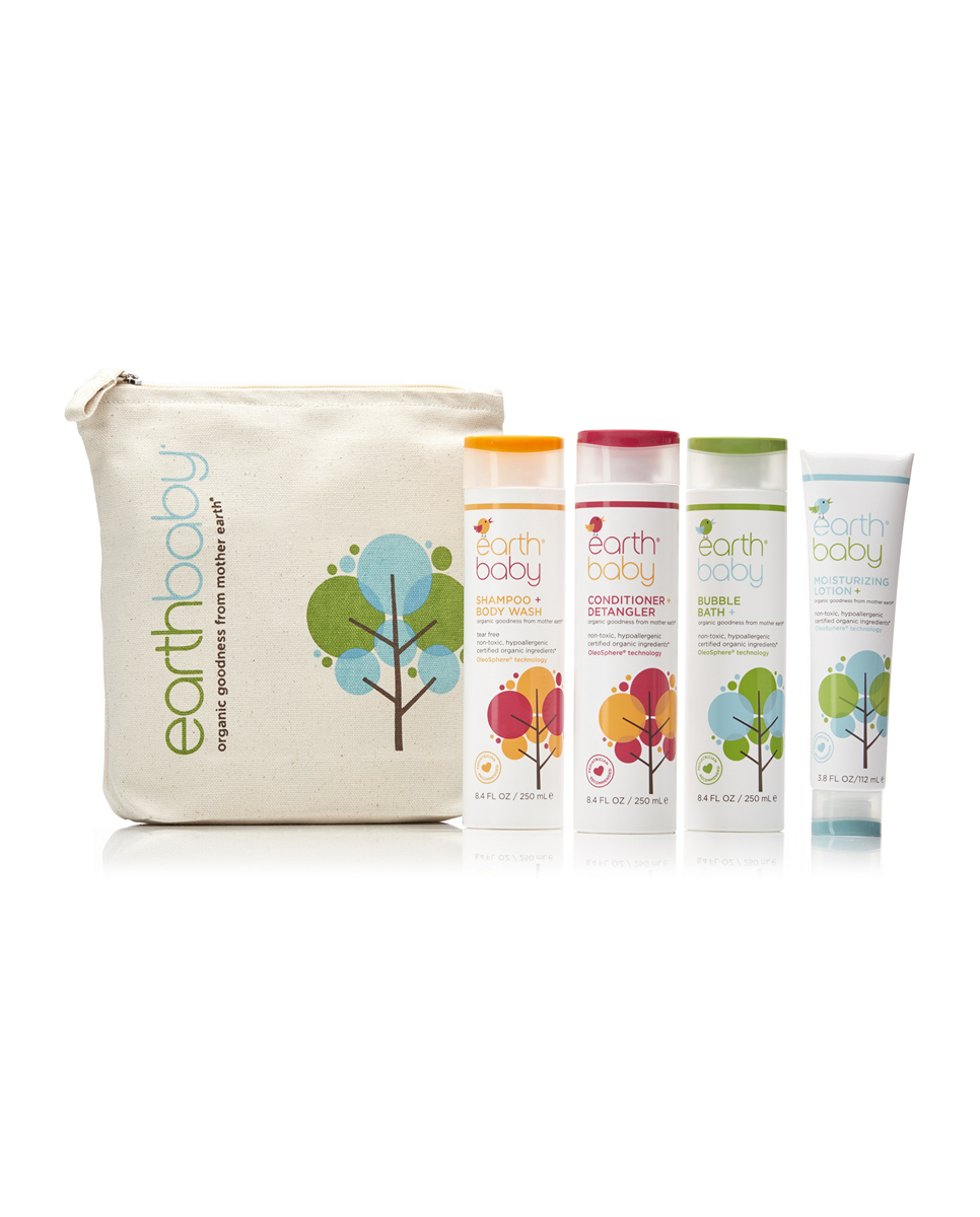 Bath Essential Kit Earth Baby